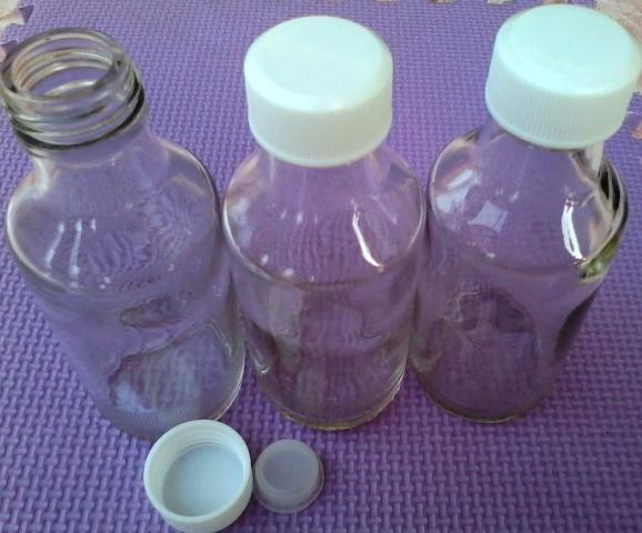 Botol Kaca Asi 100 ml (Rekondisi) Telp 085779061713