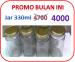 Botol Selai Kaca / toples Kaca 330 ml Telp 085779061713