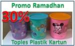 Toples Plastik Unik Gambar Kartun Promo Ramadhan 30%