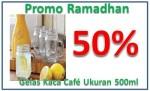 Gelas Jar Diskon 50% Order 085779061713