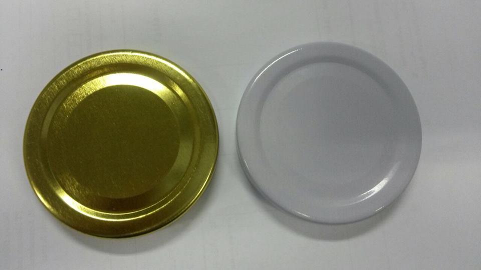 Jual Tutup Seng Selai Warna Gold dan Putih