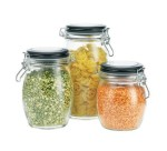 Jar Hermitico Tutup Stainless & Kait size 750ml Import
