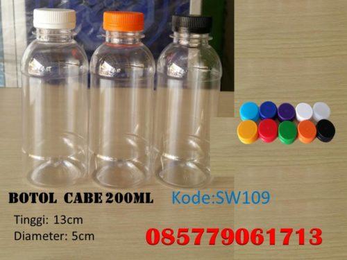 Botol Plastik cabe 200ml
