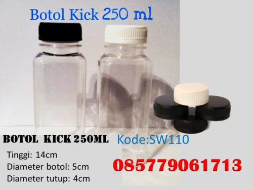 Botol Plastik kick 250ml