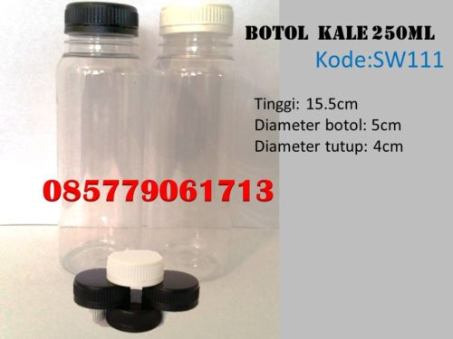 Botol Plastik kale 250ml