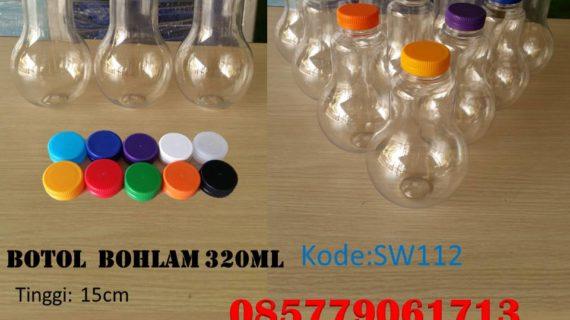 Botol Plastik bohlam 320ml