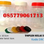 Toples Plastik selai 270ml