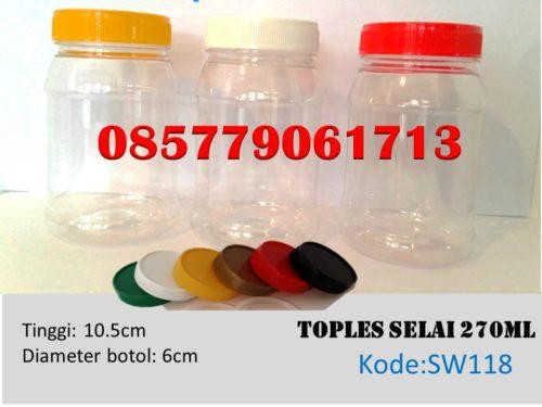 Toples Plastik selai 270ml