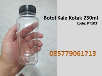 Botol Plastik kale kotak 250ml