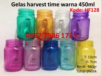 gelas-harves-warna-450ml
