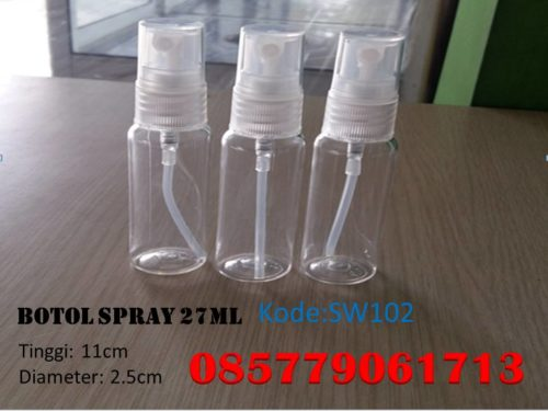 Botol Plastik spray 27ml