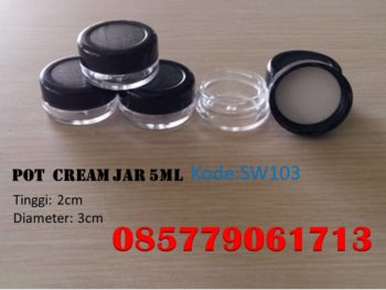 Pot cream jar 5ml