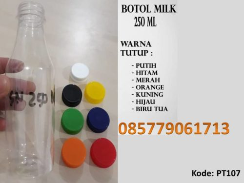 Botol Plastik milk 250ml