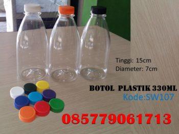 Botol Plastik cantik 330ml