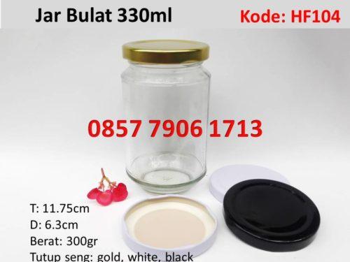 Jar Selai Madu Bulat 330ml