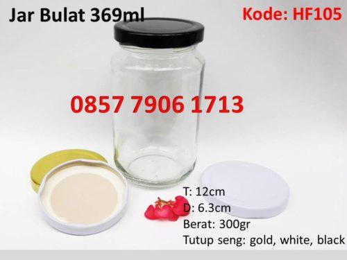 Jar Selai Madu Bulat 369ml