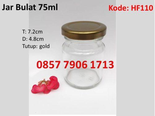 Jar Selai Madu Bulat 75ml