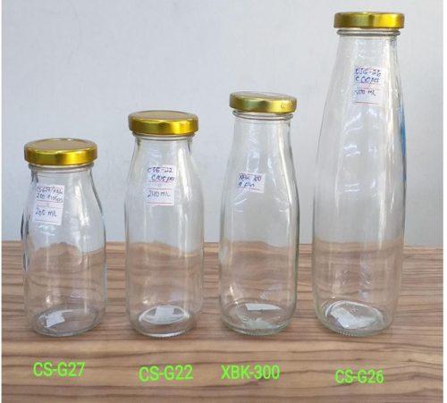 Botol Kaca Tutup Seng Gold