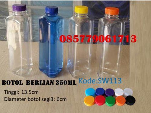 Botol Plastik berlian 350ml
