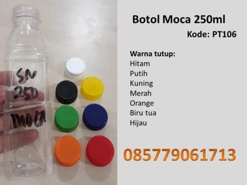 Botol Plastik moca 250ml