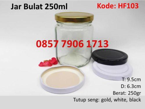 Jar Selai Madu Bulat 250ml
