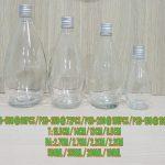 Botol Kaca Bohlam Tutup Silver   toko botol kaca